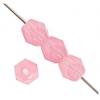 Fire Polished 4mm Pink Alabaster